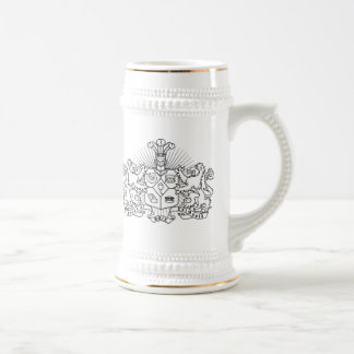 House of Falmouth Crest Beer Stein