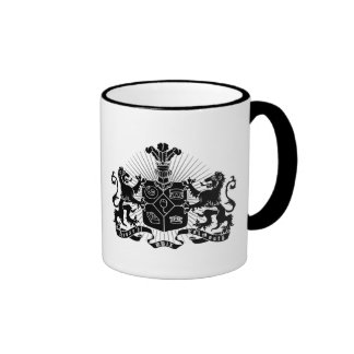 House of Falmouth Crest Ringer Mug