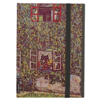 House of Guardaboschi by Klimt, Vintage Fine Art Case For iPad Air