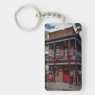 House of Joy, Jerome, AZ. Keychain