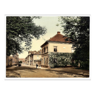 House of Liszt, Weimar, Thuringia, Germany classic Postcard