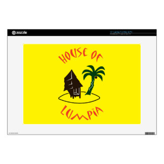 "House of Lumpia 15"" Laptop Decal"