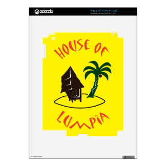 House of Lumpia Decal For The iPad 2