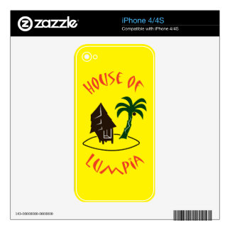 House of Lumpia iPhone 4S Decal