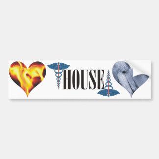 House of Medicine (of course) Bumper Sticker
