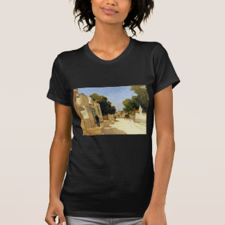 House of Millet at Barbizon by Johan Hendrik Weiss T-Shirt