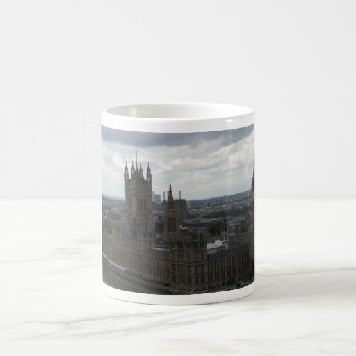 House of Parliament in London Mug