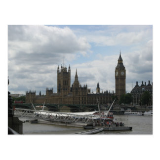 House of Parliament in London Postcard