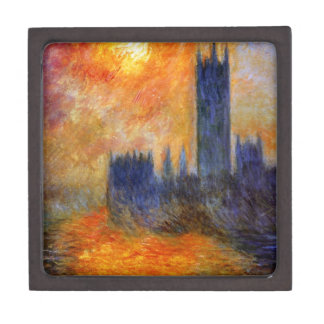 House of Parliament Sun by Claude Monet Gift Box