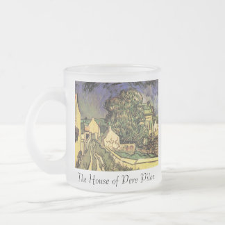 House of Pere Pilon, The 10 Oz Frosted Glass Coffee Mug