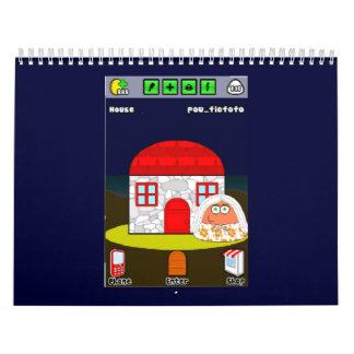 House of Pou Custom Printed Calendar