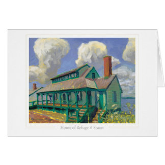 House of Refuge note card