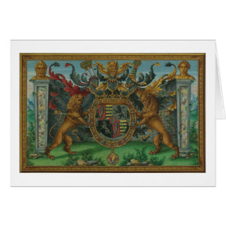 House of Savoy Royal Coat of Arms Card