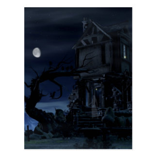 house of scary dreams postcard