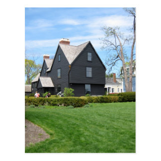 House of Seven Gables Back view Post Card