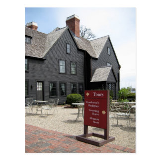 House of Seven Gables Post Card