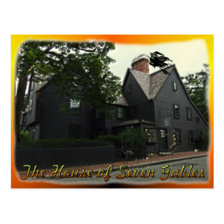 House of Seven Gables Postcard