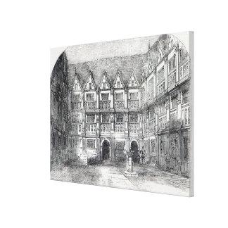 House of Sir Thomas Gresham Canvas Prints