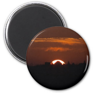 House Of The Falling Sun Magnet
