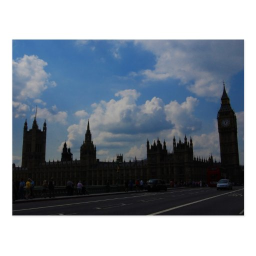 House of the Parliament & Big Ben Post Cards