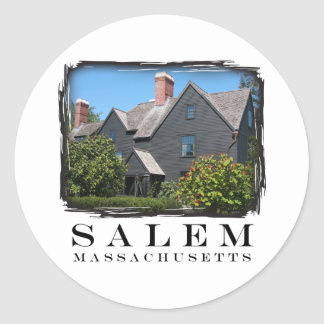 House of the Seven Gable Classic Round Sticker