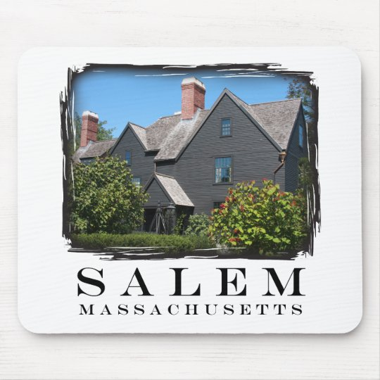 House of the Seven Gable Mouse Pad