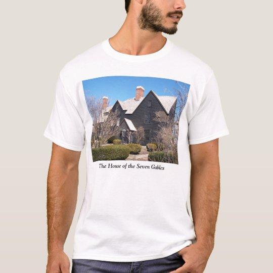 House of the Seven Gables Salem t-shirt