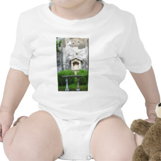 House of the Small Pagan Fountain Baby Bodysuits