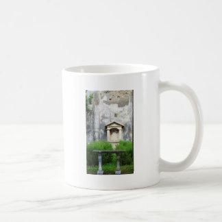 House of the Small Pagan Fountain Classic White Coffee Mug