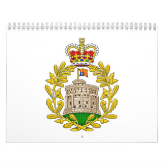 House of Windsor Royal Coat of Arms Wall Calendars