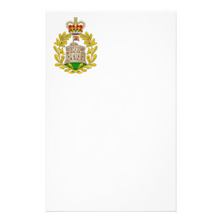 House of Windsor Royal Coat of Arms Stationery