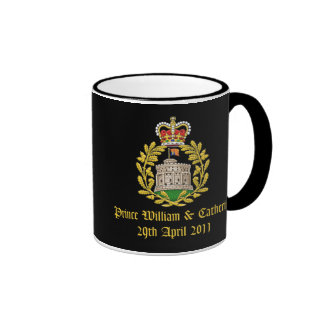House of Windsor Royal Wedding Ringer Coffee Mug