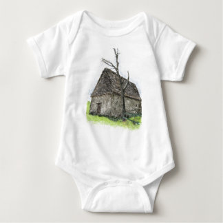 House og the wicked witch baby bodysuit