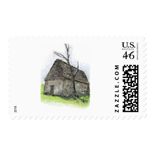House og the wicked witch postage