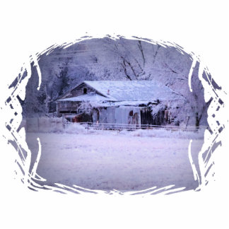 House on 72 with Ice Photo Cutout