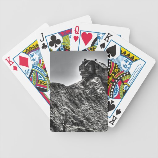 House On A Hill Bicycle Poker Cards