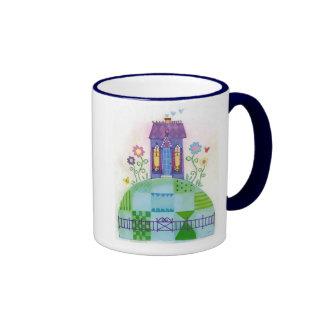 house on a hill ringer mug