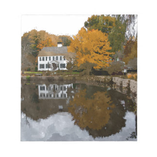 House on Cape Cod Notepad