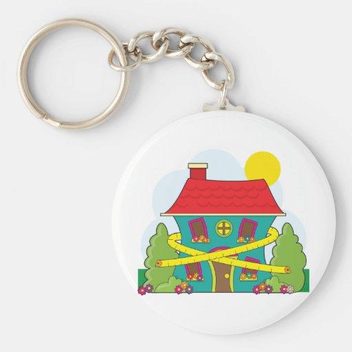 House on Diet Keychains