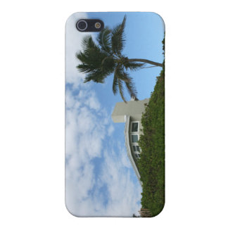 House on Hill with sky and palm tree in Florida Covers For iPhone 5