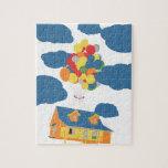 House on sky jigsaw puzzles