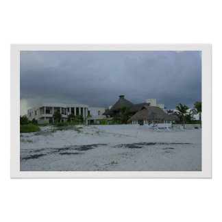 House on the beach poster