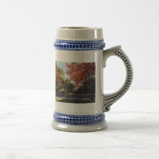 House on the Hill Beer Stein