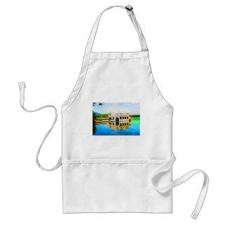 House on the lake delantal