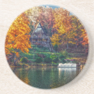 House on the Lake Drink Coaster