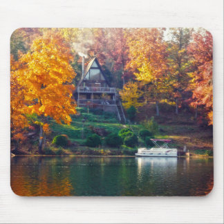 House on the Lake Mouse Pad