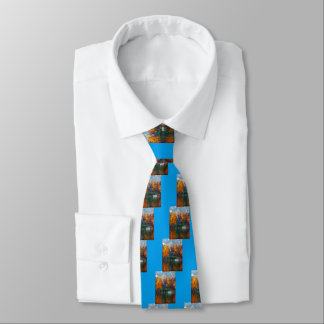 House on the Lake Neck Tie