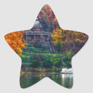 House on the Lake Star Sticker