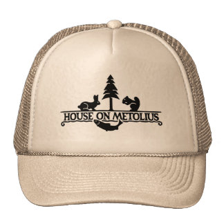 House on the Metolius Trucker Hat