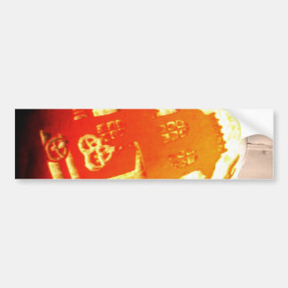 House on the Pumpkin Bumper Sticker